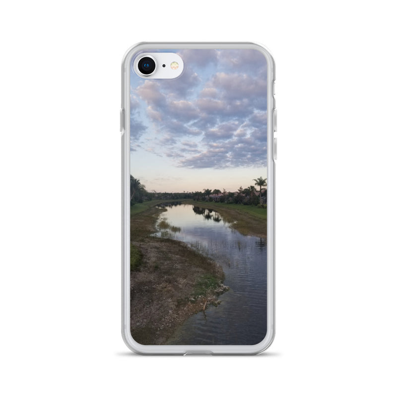 """River Sky"" iPhone Case-Phone Case-Tropical Scenery-iPhone 7/8-Tropical Scenery"