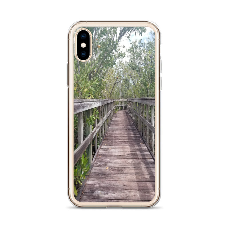 """Out Back"" iPhone Case-Phone Case-Tropical Scenery-Tropical Scenery"