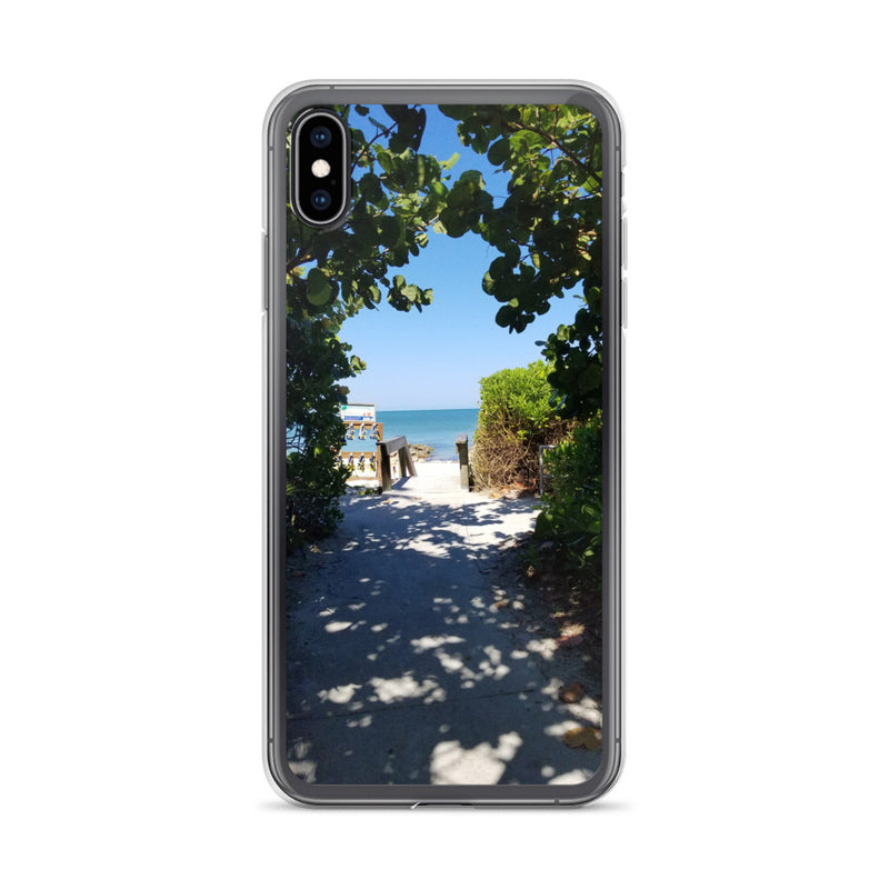Beach Pass iPhone Case-Tropical Scenery-iPhone XS Max-Tropical Scenery