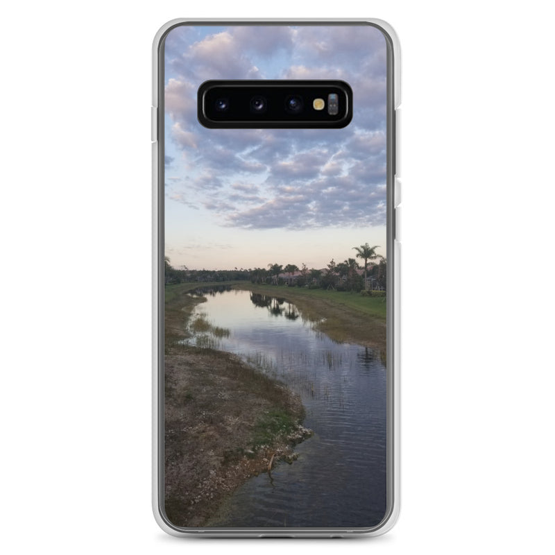 """River Sky"" Samsung Case-Phone Case-Tropical Scenery-Samsung Galaxy S10+-Tropical Scenery"