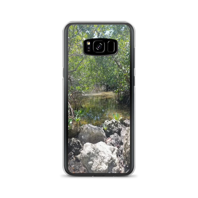 """Creeks"" Samsung Phone Case-Phone Case-Tropical Scenery-Samsung Galaxy S8+-Tropical Scenery"