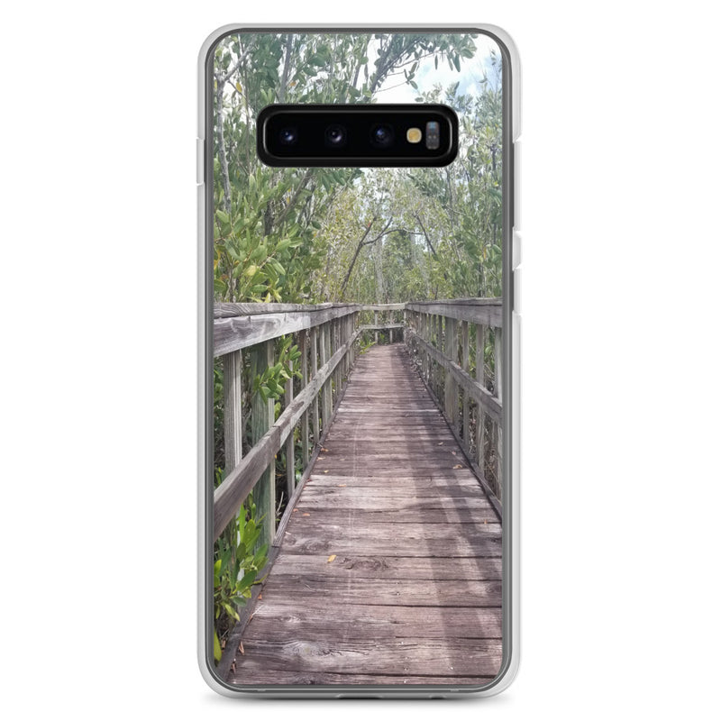 """Out Back"" Samsung Case-Phone Case-Tropical Scenery-Samsung Galaxy S10+-Tropical Scenery"
