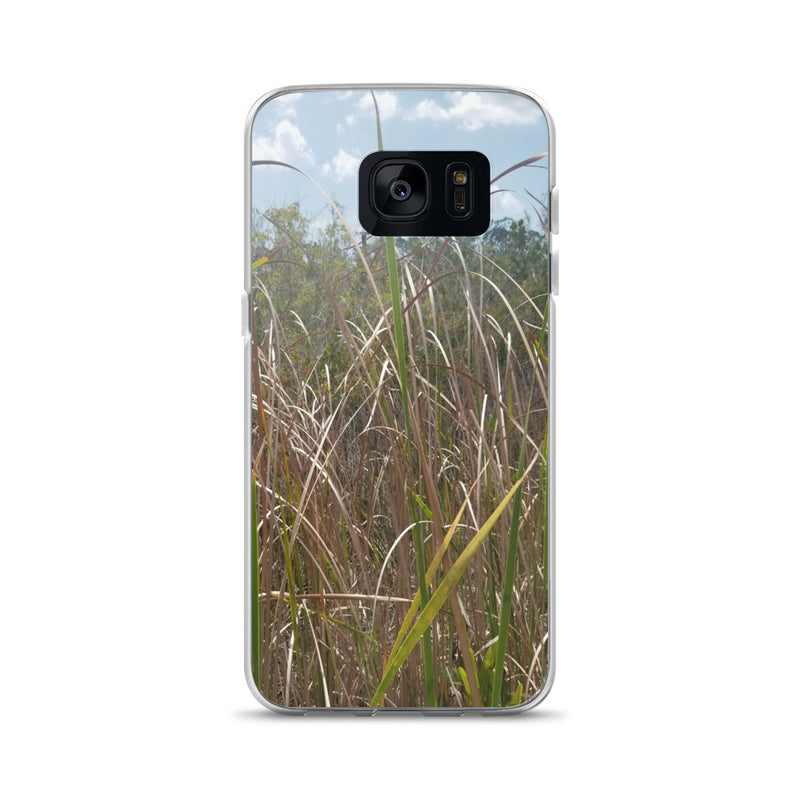 """Grass"" Samsung Phone Case-Phone Case-Tropical Scenery-Samsung Galaxy S7-Tropical Scenery"