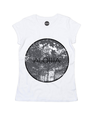 Aloha Dimlight Rolled-Up Sleeve Tee
