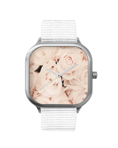 Aloha Roses Stainless Steel Watch