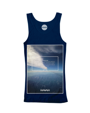 Alpine Edition Tank in Navy Blue