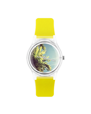 Fluorescent Leaves Wristwatch