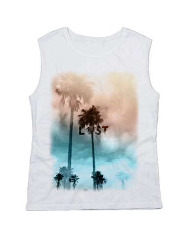 L  ST Raw Tank Top