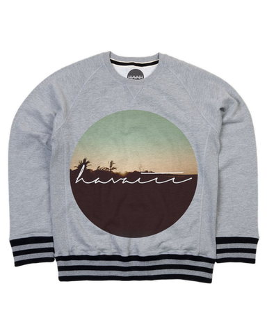 Morning Rising Striped Premium Sweater