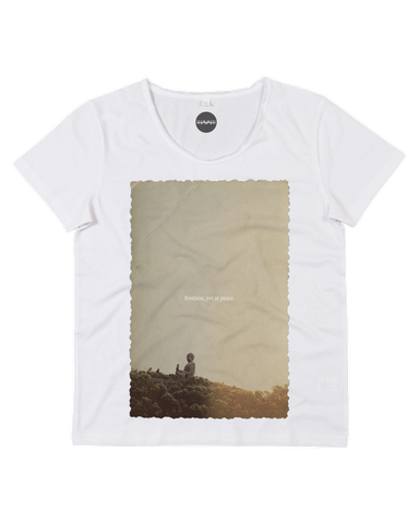 Restless Peace Raw Scoop Tee
