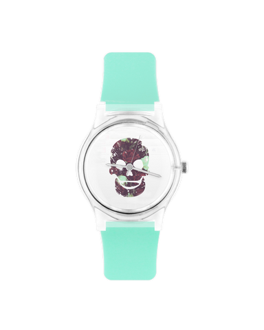 Roze Zkull Wristwatch