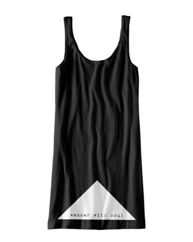 Wander With Soul Jersey Tank Dress