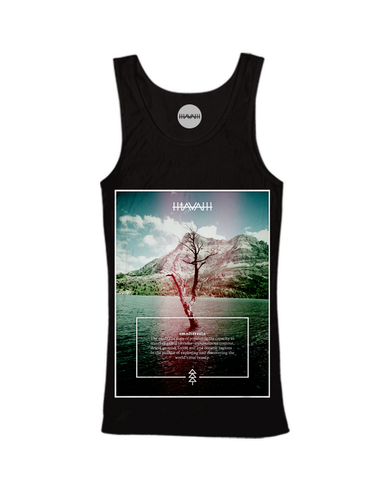 Watertree Edition Tank Top in Black