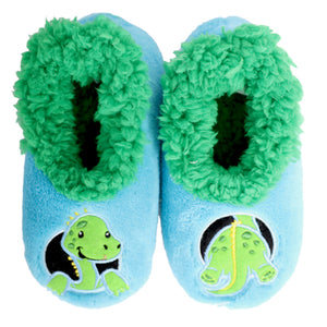 Snoozies Soft Anti Slip Toddler Shoes Socks Slippers