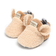 Load image into Gallery viewer, Comfortable First Walker Baby Sheep Ear Shoes