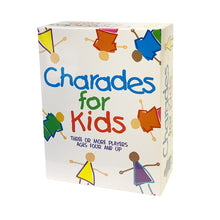Load image into Gallery viewer, Charades for Kids Fun Educational Cards Guessing Family Board Game