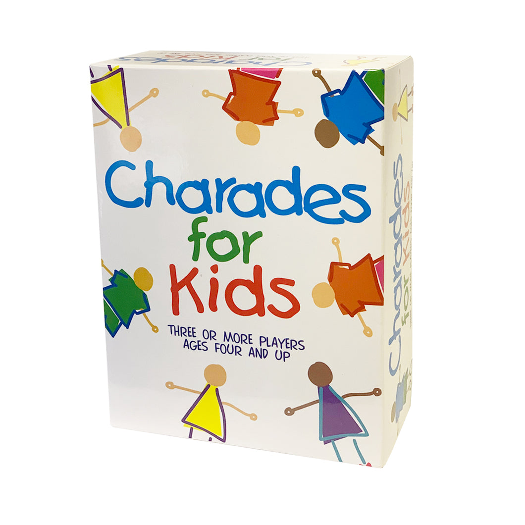 Charades for Kids Fun Educational Cards Guessing Family Board Game