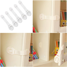 Load image into Gallery viewer, 5 Piece Baby Safety Locks - White