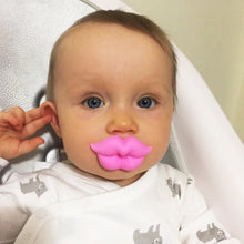 Load image into Gallery viewer, Cute Kiss Pacifier Baby Lips Mouth Soft Silicone Teether Dummy