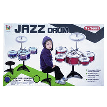 Load image into Gallery viewer, Toddler Kids Musical Jazz Percussion Instrument Kit Drum Toy Set
