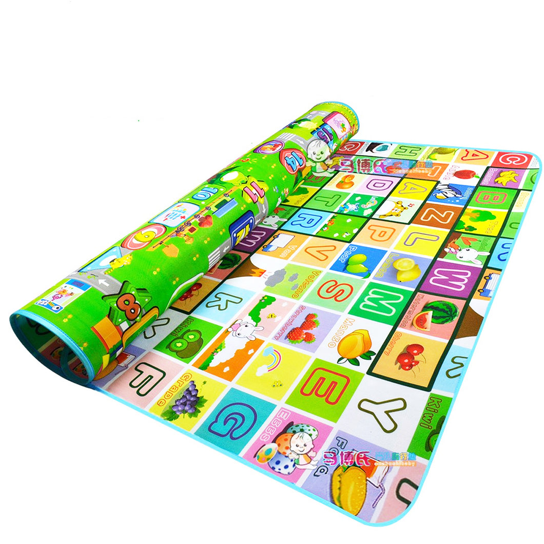Waterproof Double Sided Large Activity Baby Foam Thick Crawling Play Mat