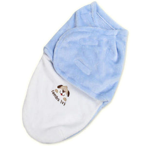 Modern Baby Swaddle Receiving Blanket and Wrap