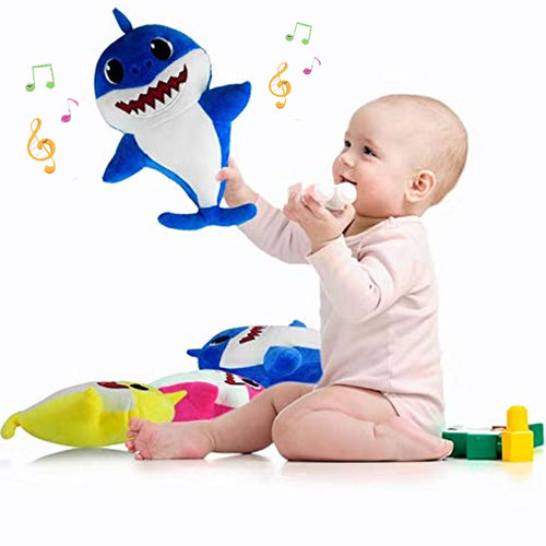 Baby Shark Singing Light Up Plush Toy