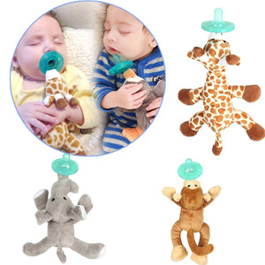 Lovey Pacifier And Teether Holder Comforter Soother