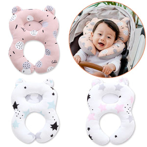 Travel Pram Flat Head Preventing Baby Car Seat Neck Pillow