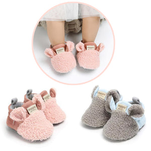 Comfortable First Walker Baby Sheep Ear Shoes