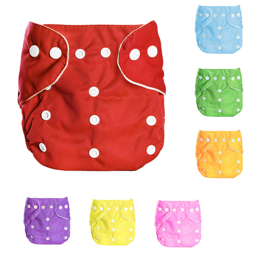 Modern One Size Baby Cloth Nappies Adjustable Reusable Diapers Liners