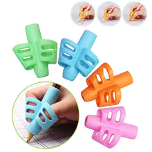 Load image into Gallery viewer, 4 Piece Ergonomically Designed Butterfly Pencil Hold Grips