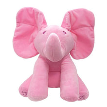 Load image into Gallery viewer, Peek-A-Boo Flopsy the Elephant Plush Toy
