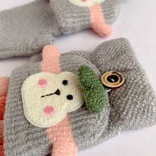 Load image into Gallery viewer, Monkey Puppet 2 in 1 Fingerless Winter Mittens