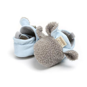 Comfortable First Walker Baby Sheep Ear Shoes - Gray / to 6 Months - Baby Shoes