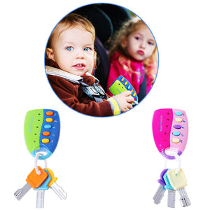 Fun Educational Musical Smart Remote Play Keys Toy