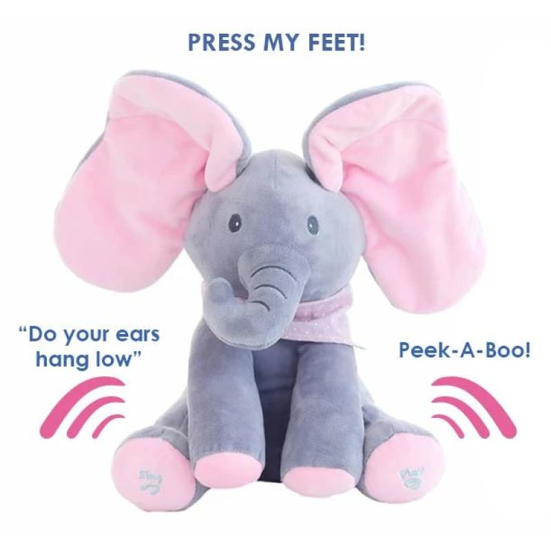 Peek-A-Boo Flopsy the Elephant Plush Toy