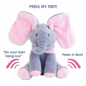 Peek-A-Boo Flopsy the Elephant Plush Toy - Toys