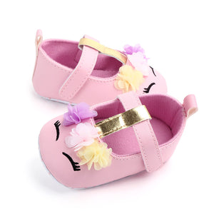 Soft First Walker Baby Girl Unicorn Summer Shoes Sandals