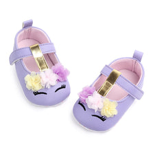 Load image into Gallery viewer, Soft First Walker Baby Girl Unicorn Summer Shoes Sandals