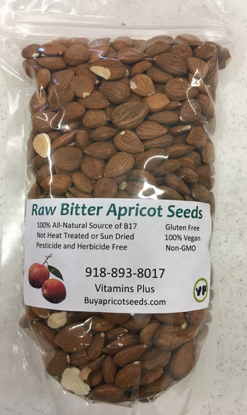 1lb/16oz Raw Bitter Apricot Seeds