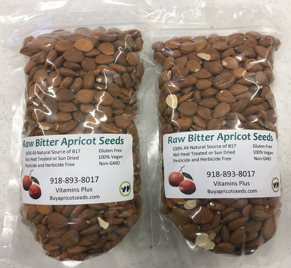 2lb/32oz Raw Bitter Apricot Seeds