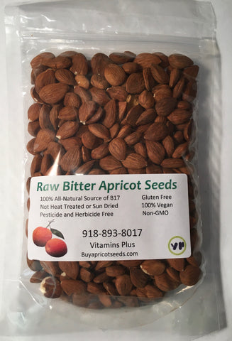 1/2lb/8oz Raw Bitter Apricot Seeds