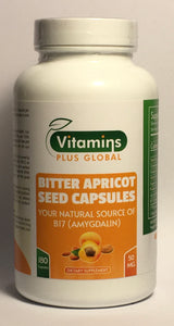 Apricot Seed Capsules 50mg