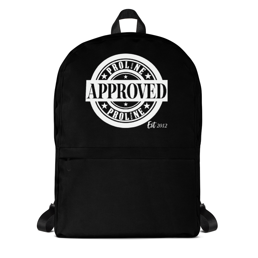 Proline Approved Backpack - Black