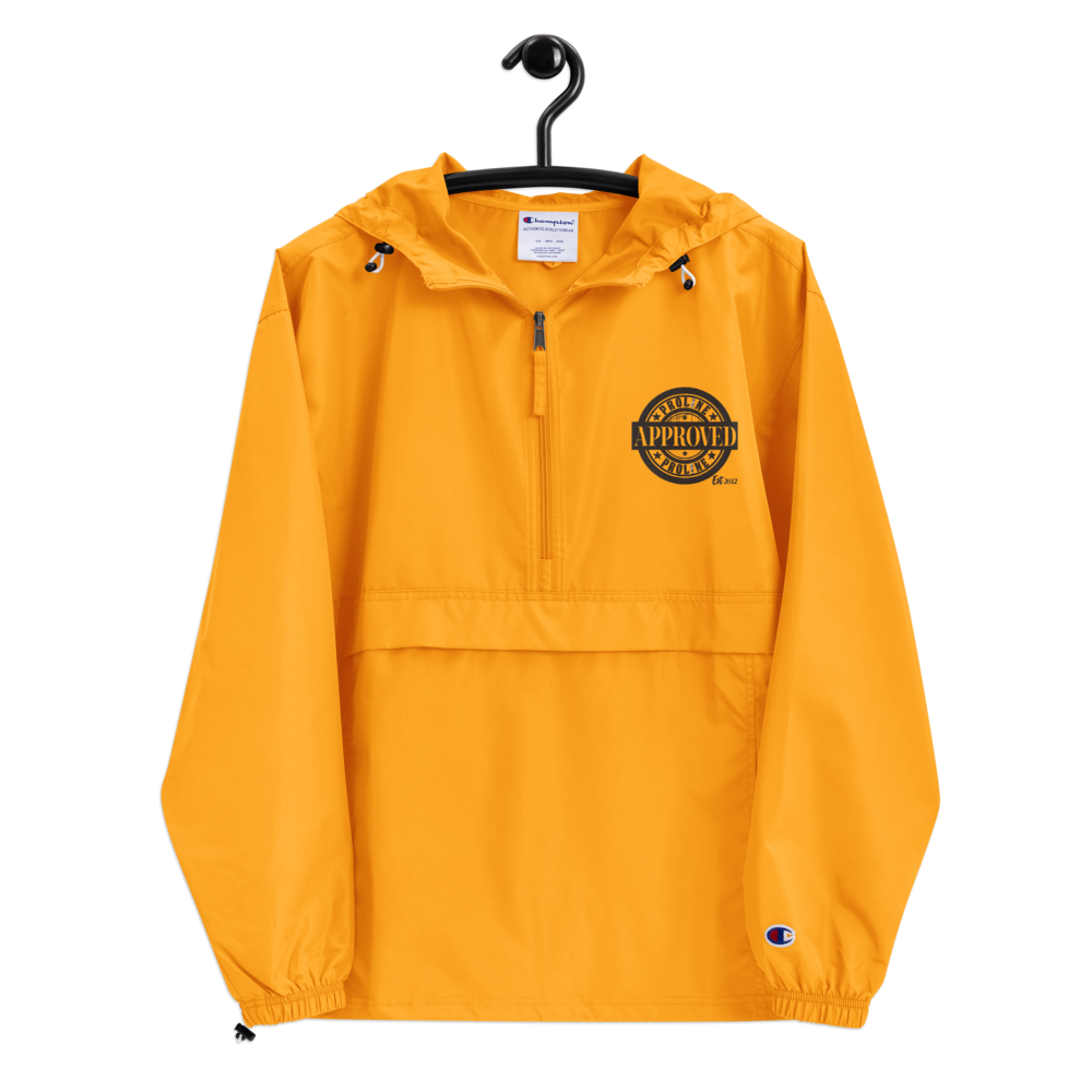 Proline Approved Embroidered Champion Packable Jacket