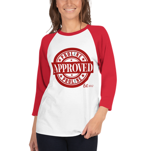 Proline Approved 3/4 sleeve Raglan Shirt