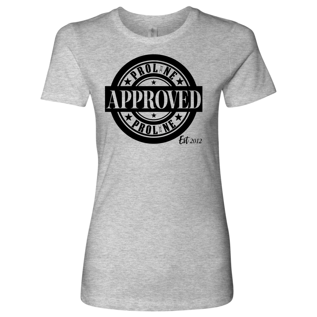 Proline Approved Women's Short Sleeve Shirt - Black Logo