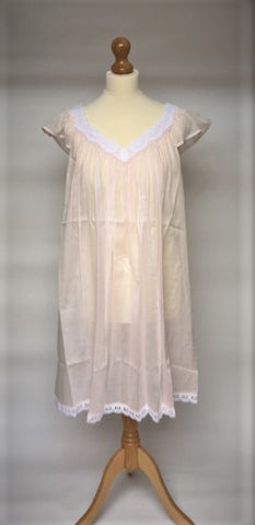 Brielle BD Short Mousseline Nightgown (In stock, 3 day delivery)