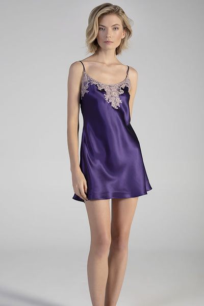 Italian Pure Silk Short Nightslip (In stock, 3 day delivery)